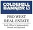 Coldwell Banker Pro West Real Estate Logo