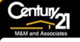Century 21 M & M and Associates Logo